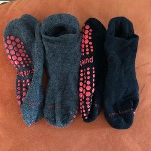 Pure Barre socks (medium)